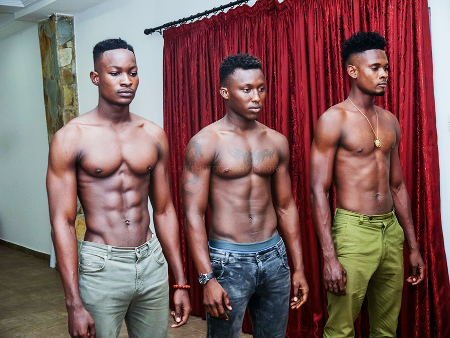 Think, models bare it all in africa