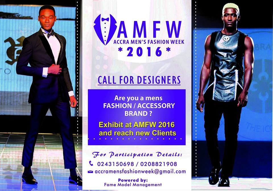 Accra Fashion Week 2017 Scheduled For 3 8th October Designer Registration Now Open