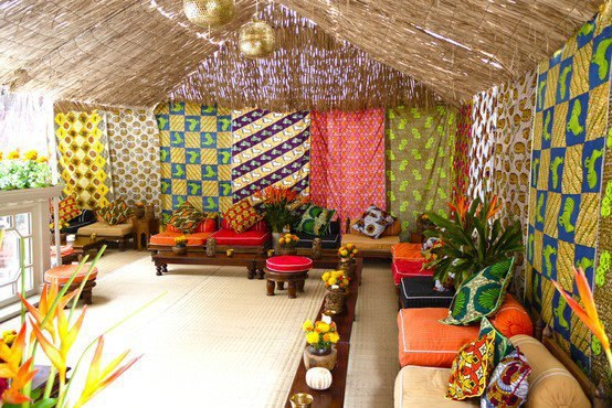 Amazing Images Of African And Print Inspired Home Deco