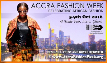 Ghana: #AFWK Accra Fashion Week 2016/7 @ International Trade Fair | Accra | Greater Accra | Ghana