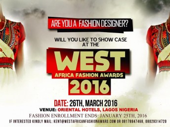 Nigeria: West Africa Fashion Awards 2016 @ Oriental Hotel | Lagos | Nigeria