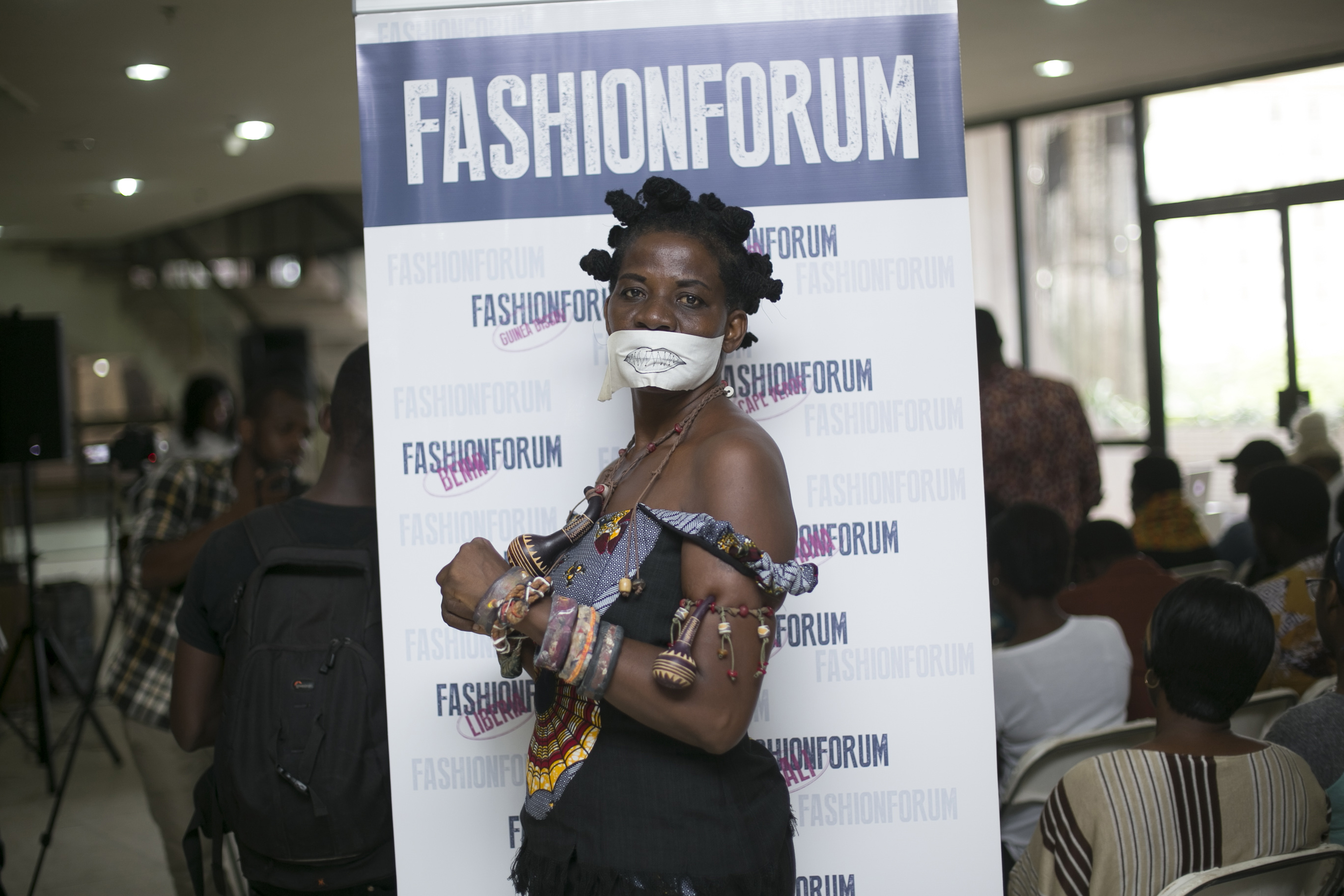 Artist Akwele Suma Glory at FFG