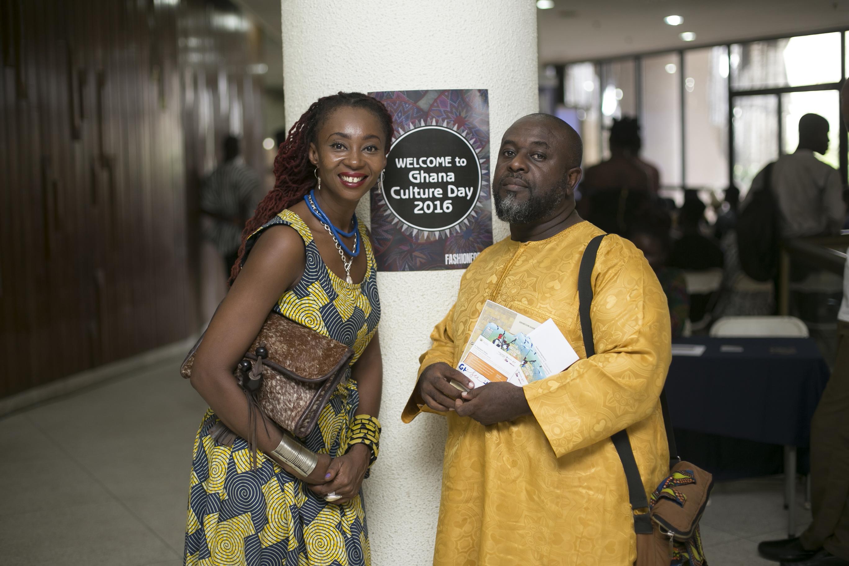 Founder Makeba Boateng and journalist PaJohn Benstifi Dadson