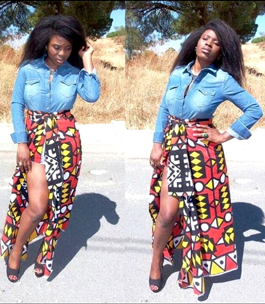 skirt with jeans