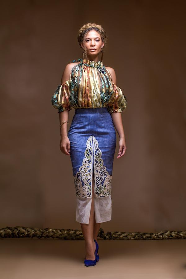christie braun Frühjahr Sommer 2016 Kollektion fashionghana ghana Mode (3)