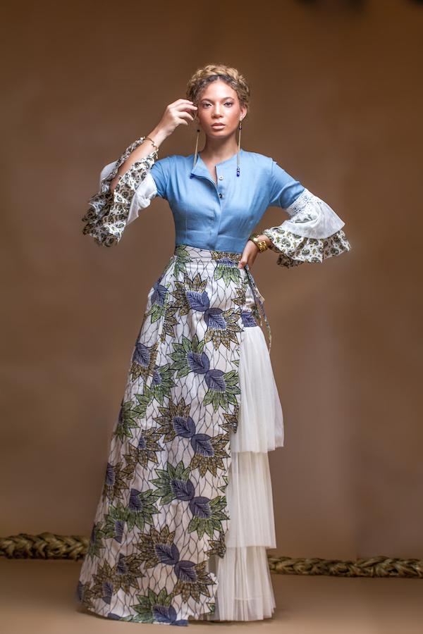christie braun Frühjahr Sommer 2016 Kollektion fashionghana ghana Mode (4)
