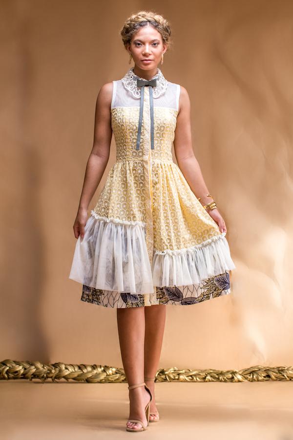 christie braun Frühjahr Sommer 2016 Kollektion fashionghana ghana Mode (8)