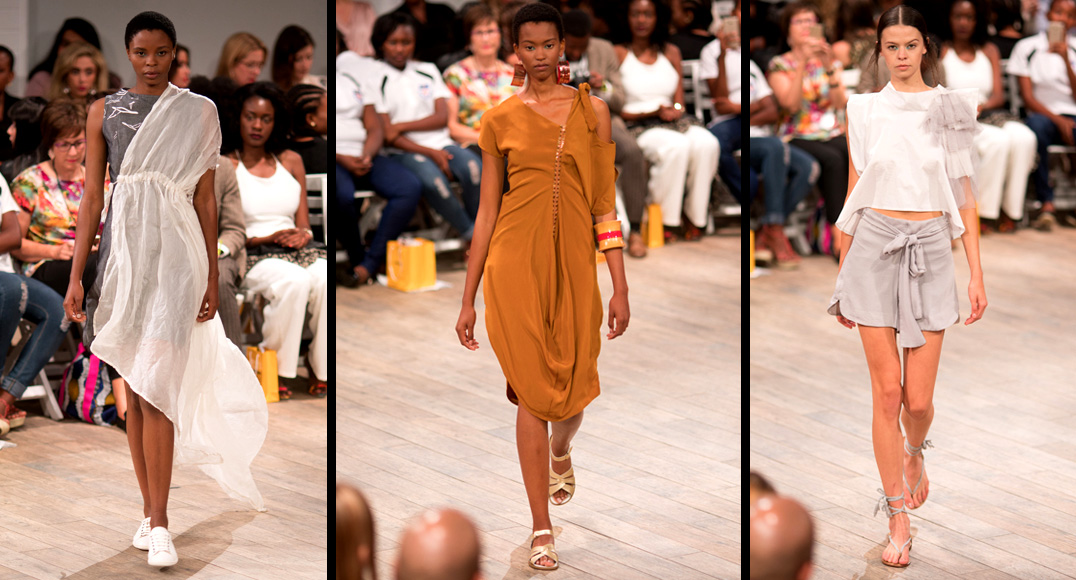 Greer Kyle, T'Niche & Heart And Heritage @ SA Fashion Week S/S 2016, Day 1