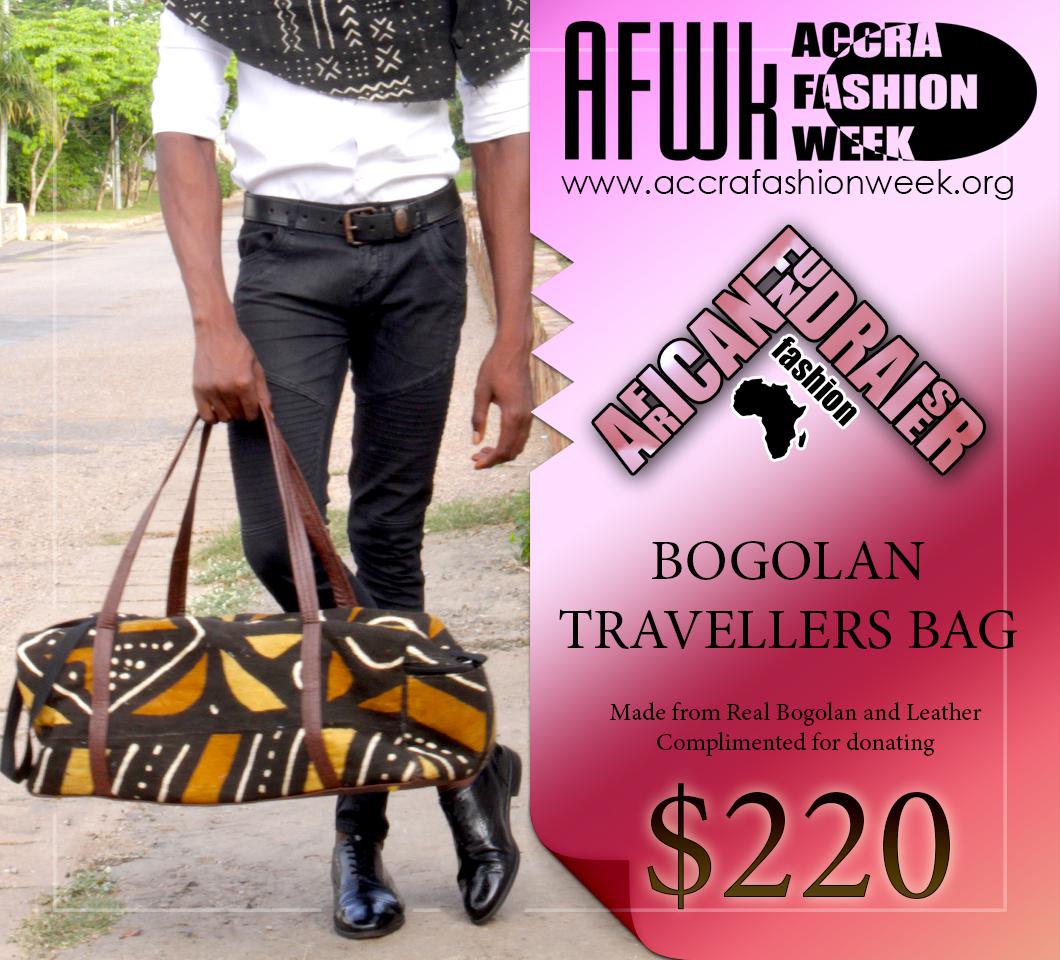 Bogolan Travelers Bag