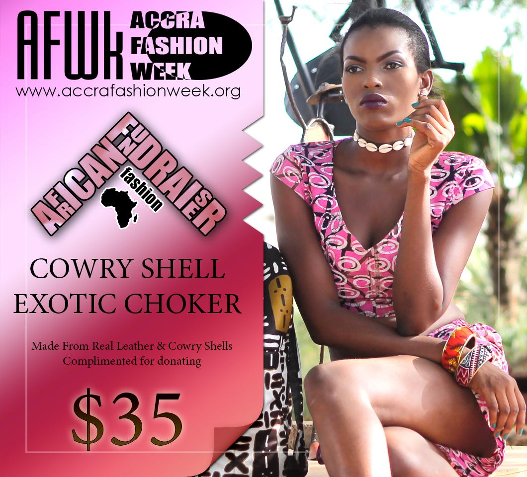 Cowry Shell Choker