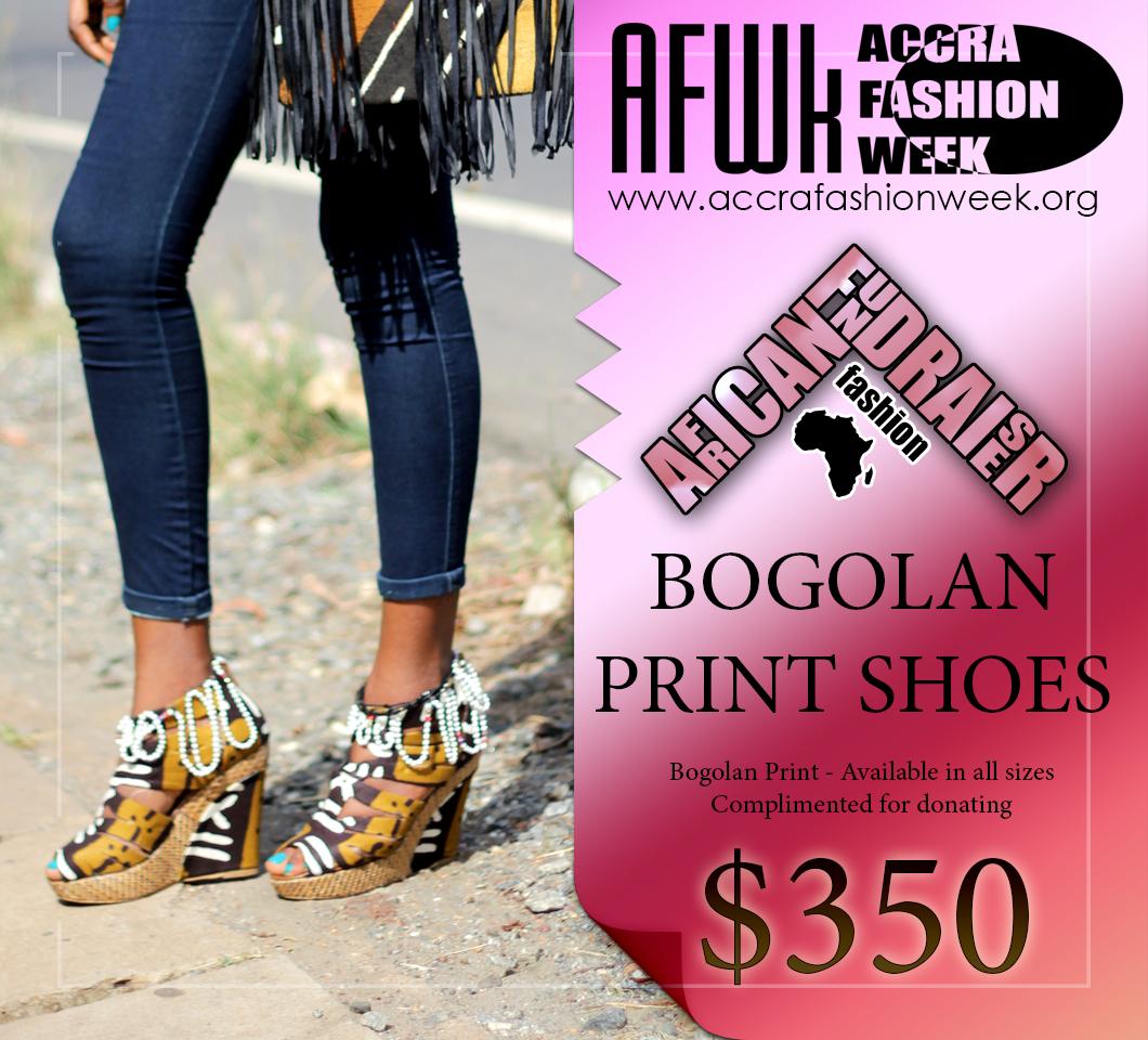 Bogolan Print Shoes