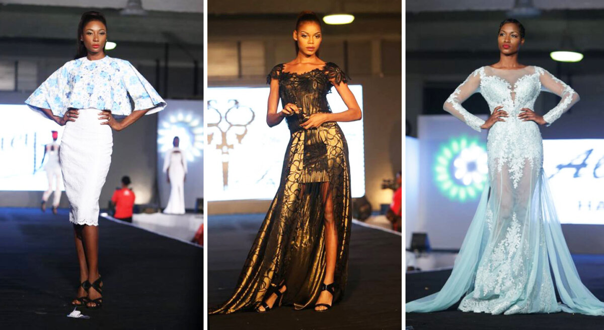 Aly FAWAZ couture, Lahad Gueye & Donia Diallo @ Moreno's Fashion Show 2016, Cote d'Ivoire