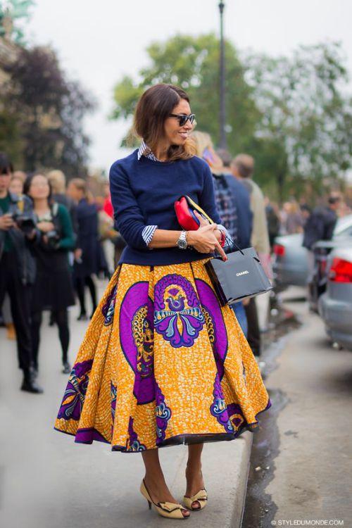 african print maxi skirt (2)