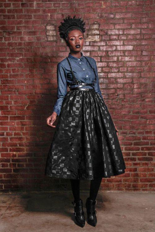 african print maxi skirt (4)