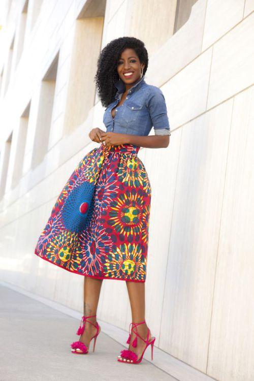 african print maxi skirt (5)