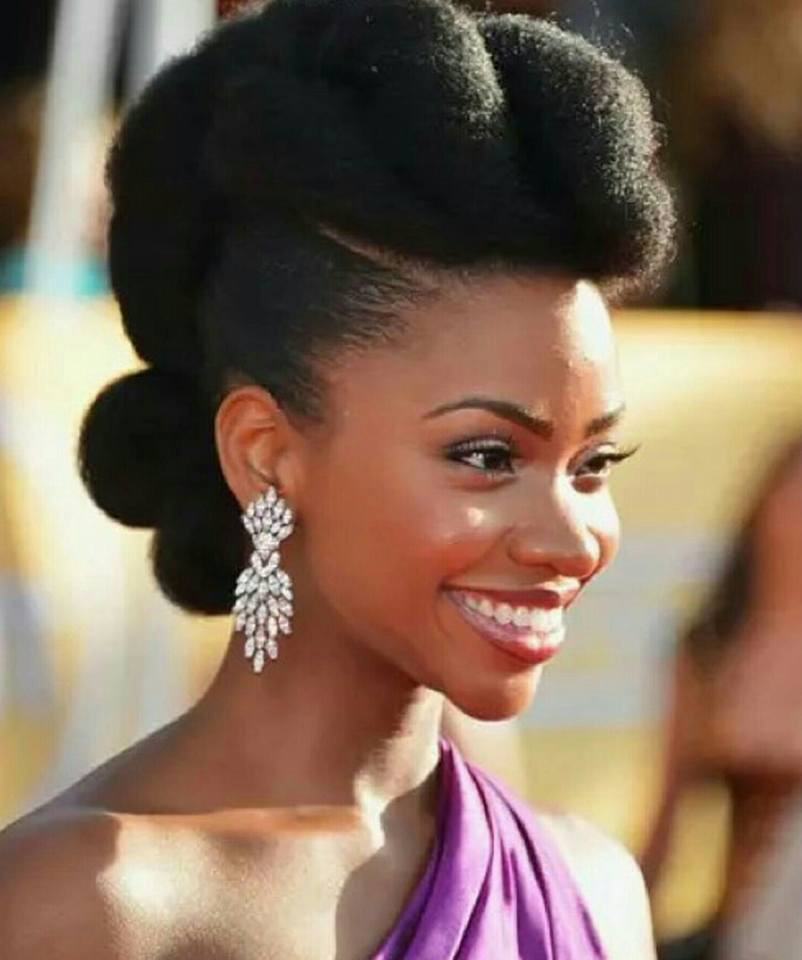 afro mohawk