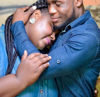 Ghanaian couple, Serwah