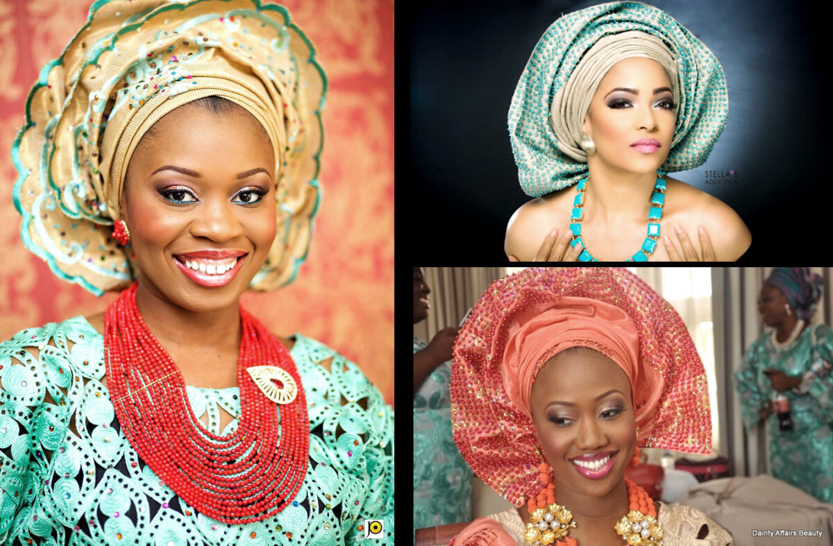 African Bridal Outfits, Hausa Style! See Beautiful