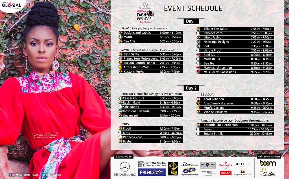 Mercedes Benz African Fashion Festival Presents The 2016 Schedule Of Runway Designers Fashionghana Com 100 African Fashion