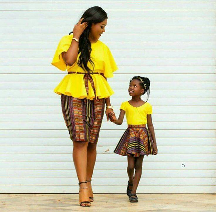 PICTURES: See All The Viral African Fashion Mother