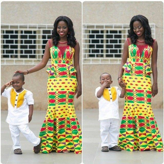 mother and daught african fashion pics (2)
