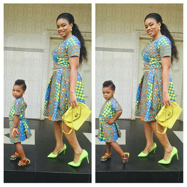 Pictures See All The Viral African Fashion Mother Daughter Son Images Breaking The Net