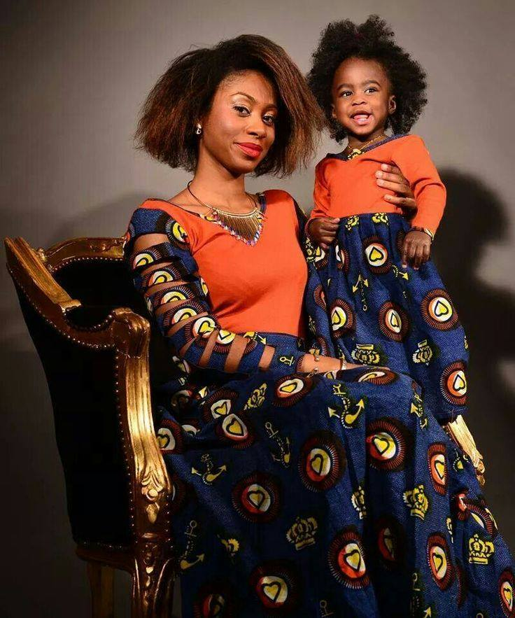 mother and daught african fashion pics (3)