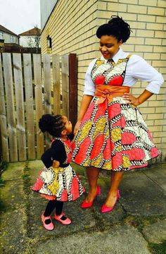 mother and daught african fashion pics (8)
