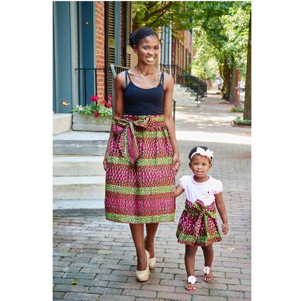 mother and daught african fashion pics (9)