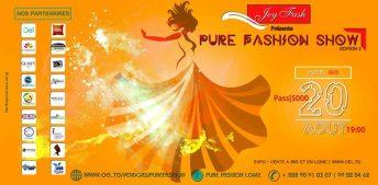 Togo: Pure Fashion Show - Edition 2 @ Hotel Ibis | Lome | Maritime | Togo