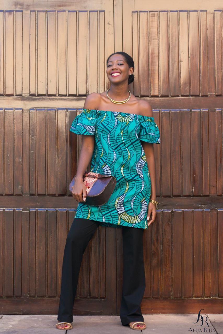 Mina Evans, Ghana