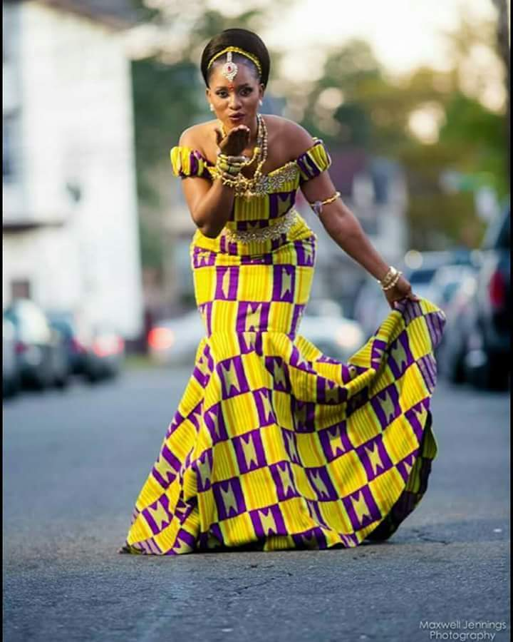 Style inspiration see long flowing african fashion gowns for African traditional wedding dress styles