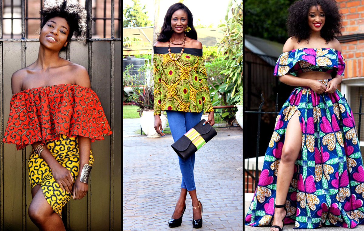 d9a50677be72f Trend Alert  African Fashion Off-Shoulder Tops Dresses Catching Fire ...
