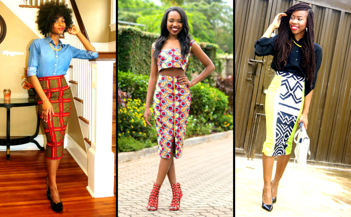Tips On How To Rock Your African Fashion Print Pencil Skirt 100 African Fashion