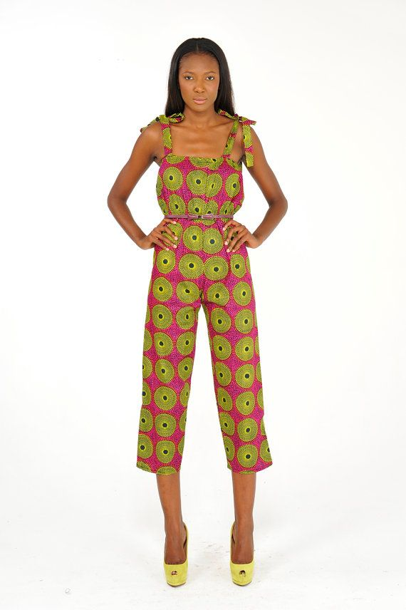 These Ankara Jumpsuit Styles Will Look Good On You - Blogger4Zero.com