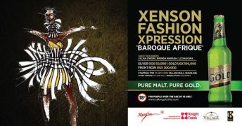 Xenson's Baroque Afrique Fashion Show @ Village Mall | Kampala | Central Region | Uganda
