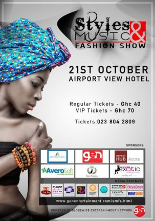 Ghana: Styles & Music Fashion Show @ Airport View Hotel | Accra | Greater Accra Region | Ghana