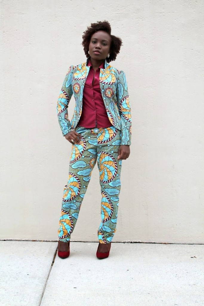 Get Your Own African Print Suit Or Jacket Look & Select ...