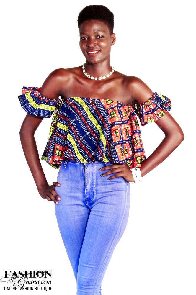 7e098442af676 African Print Off Shoulder Top (Select Your Print Fabric ...
