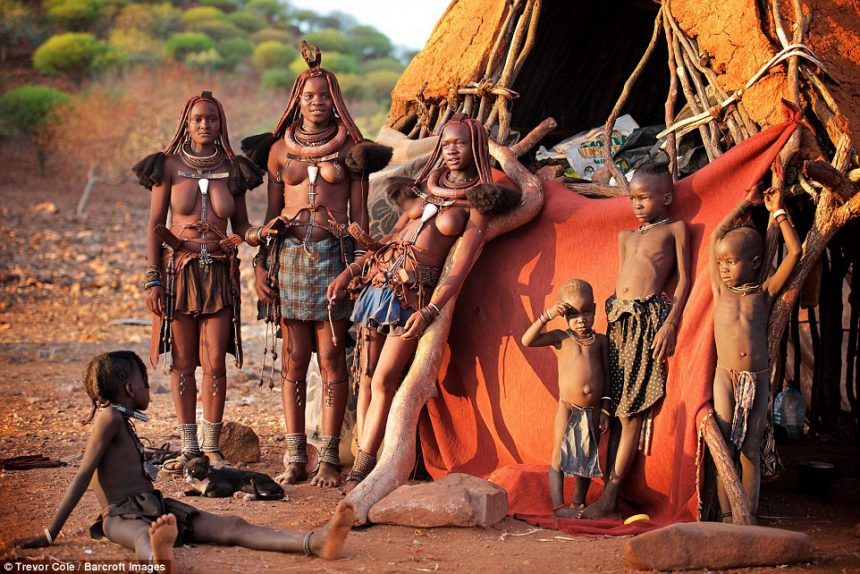 Shocking Himba Tribe Of Namibia