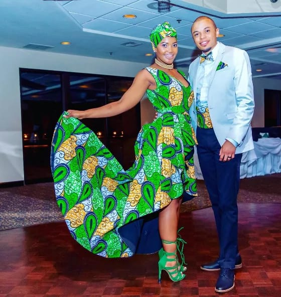 South African Couple Go Viral By Breaking All Traditional