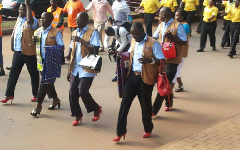Walk A Mile In Her Shoes Uganda