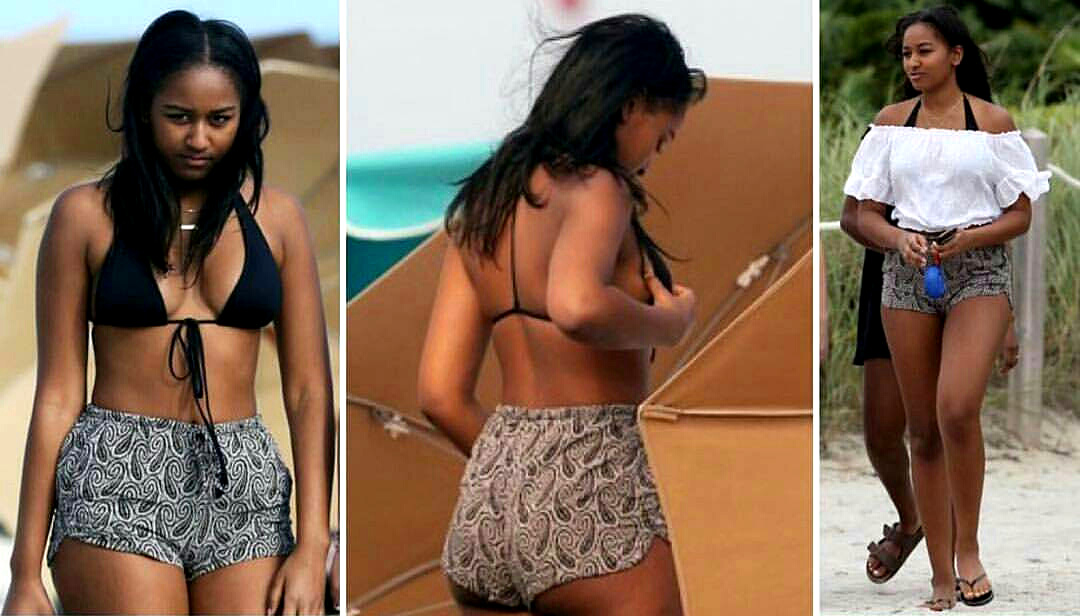 Fted Sasha Goes Viral In Beachwear Outfit On