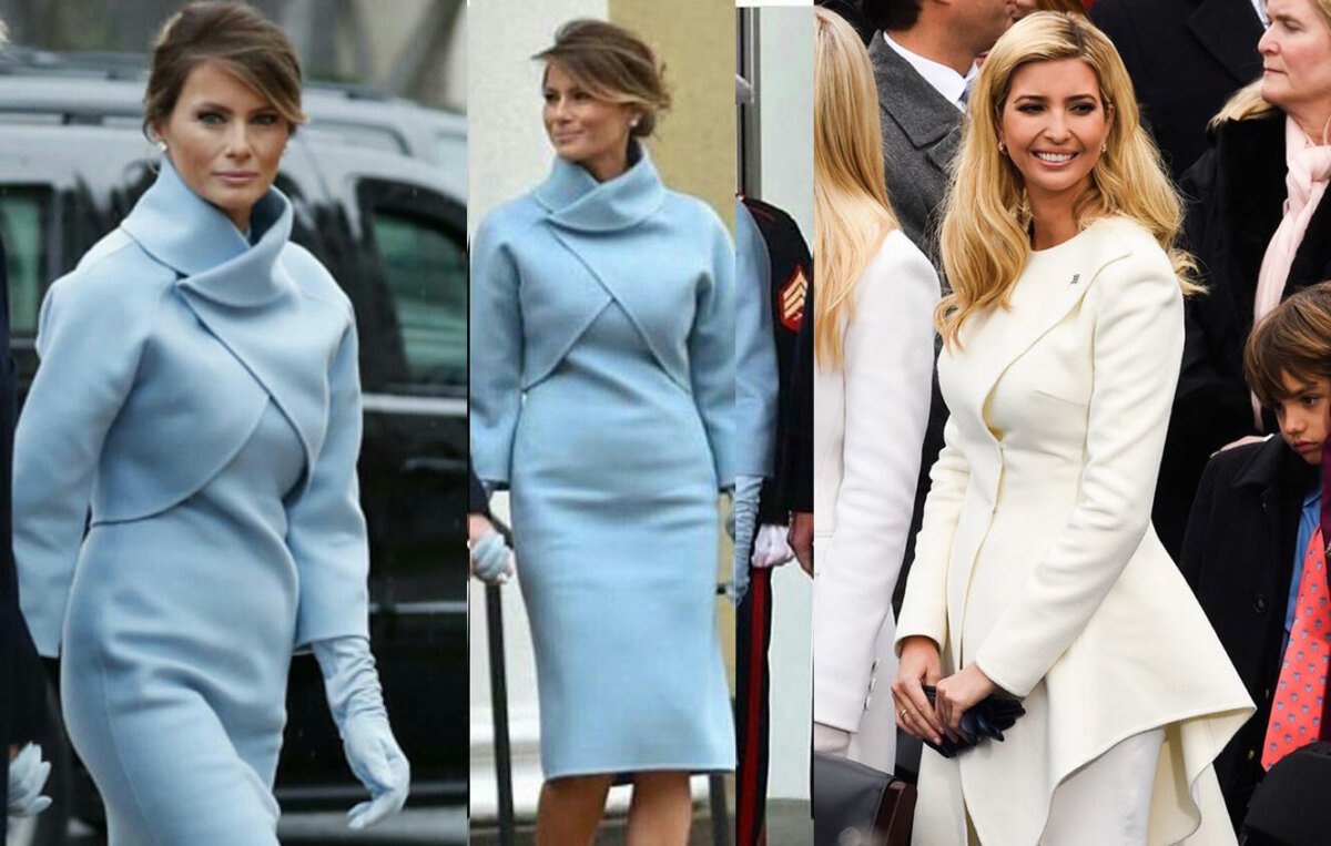 fGSPOTTED: Admit It! Melania & Ivanka Trump Slayed At US's 45th  Presidential Inauguration Bringing New Style To The White House