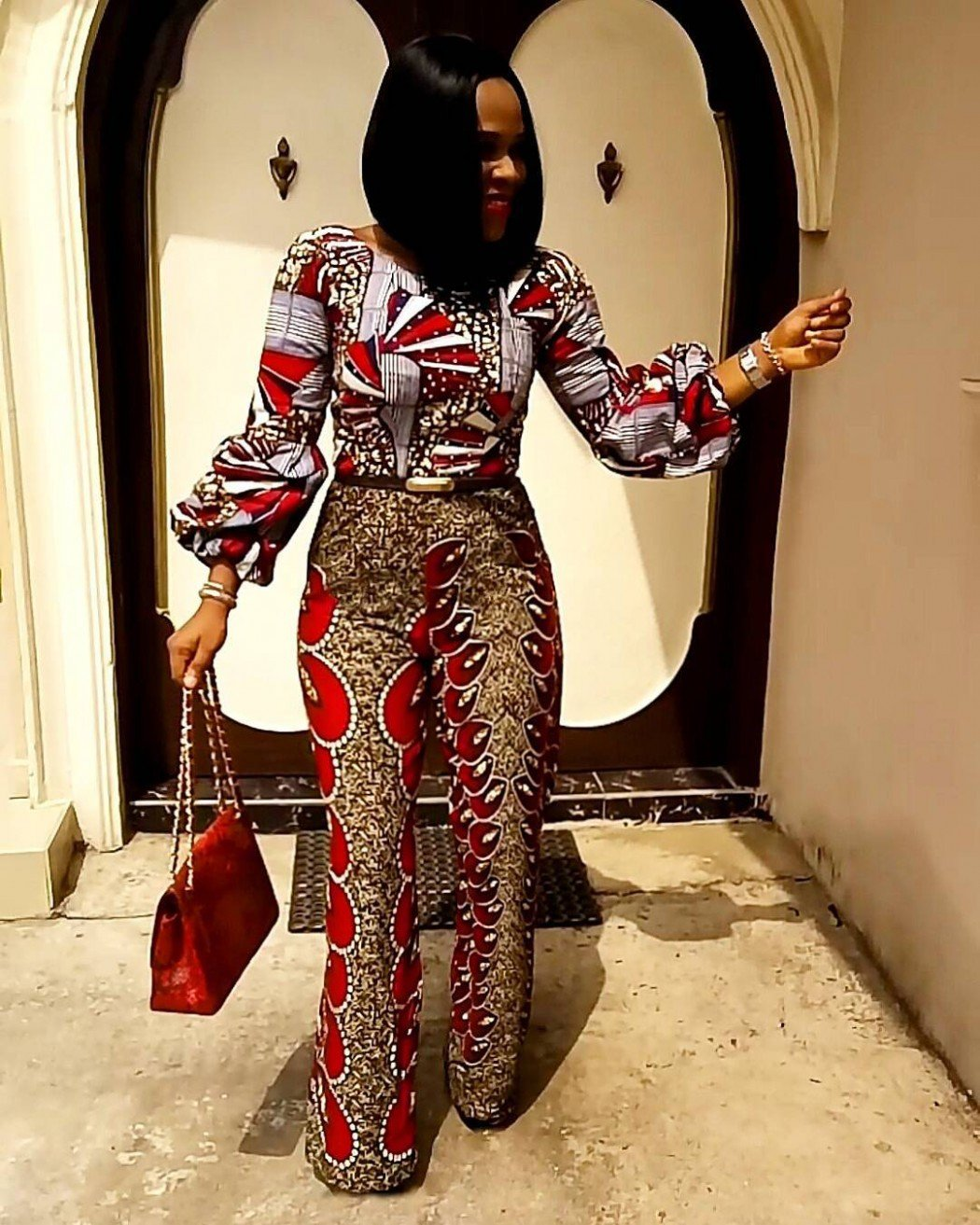 Fgstyle Check Out These Attention Grabbing African Fashion Outfits For Those With Loud Styles