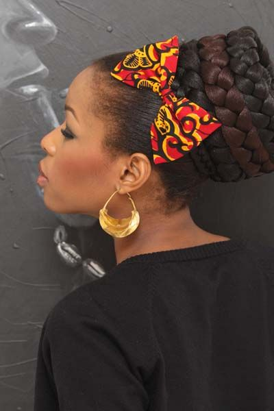 Fgstyle Fabulous Ways To Style Your Hair With African