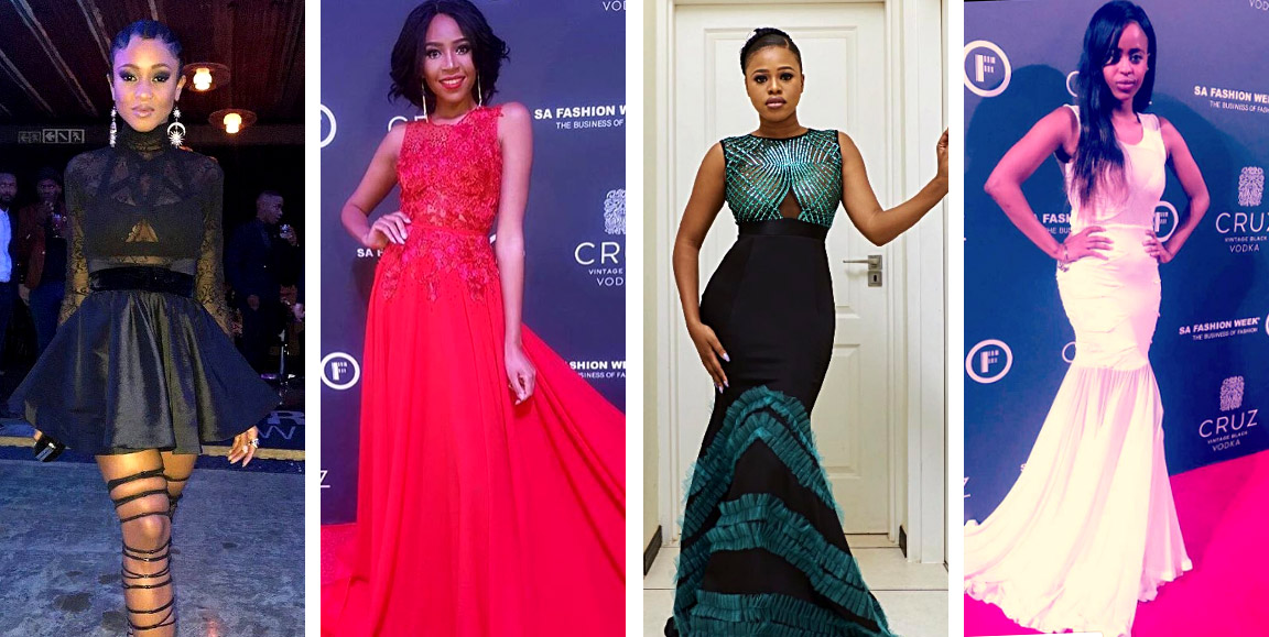 See It Here 1st Fabulous Red Carpet Looks From Sa Fashion