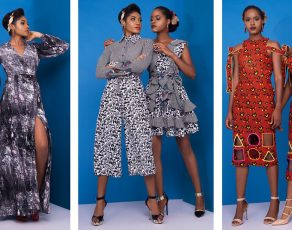Nigerrian Fashion Label Tiskies Presents The Look Book For Their 'CHIC' Collection