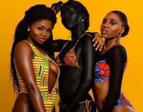 Hot Shots: Dark Skin Sudanese Beauty Kim Nyakim Slay In Images By Tolulupe Berry