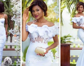 #STYLEGIRL: Empress Jamila Shines In These New 'She By Bena' Wedding Guest Outfit!
